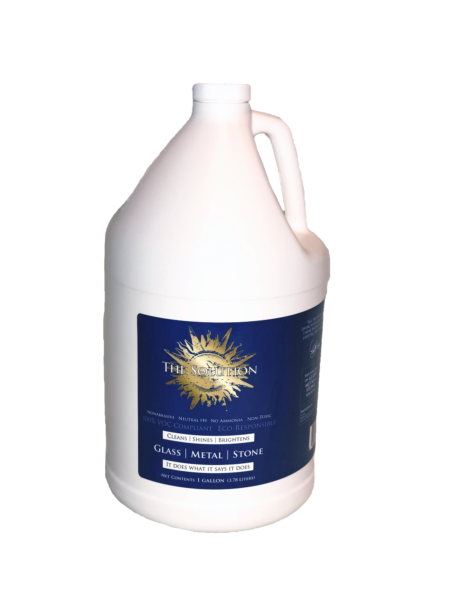 The Solution for Glass, Metal & Stone - 1 Gallon